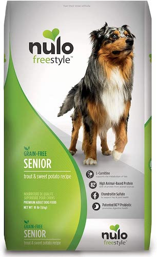 nulo freestyle senior dog food