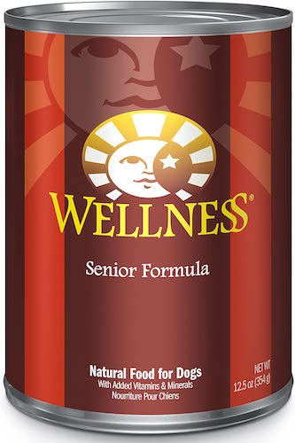 wellness complete senior wet dog food