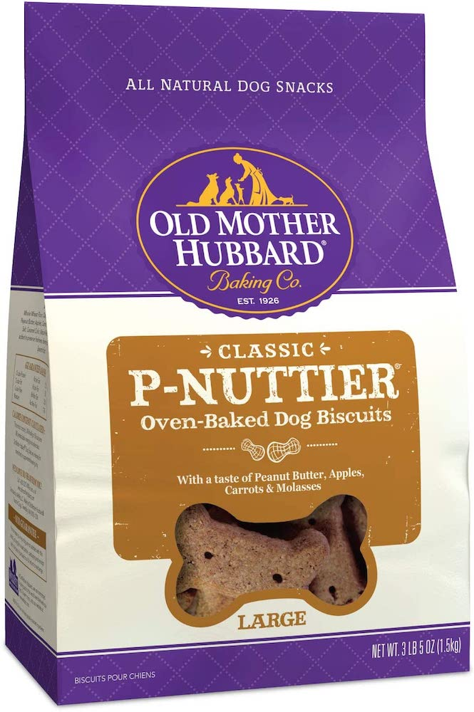 Oven baked dog biscuits