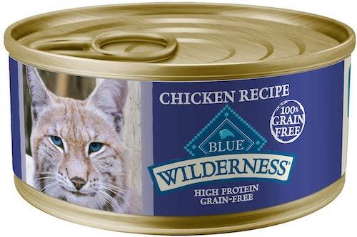 blue buffalo wilderness wet cat food