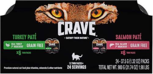 crave low carb cat food