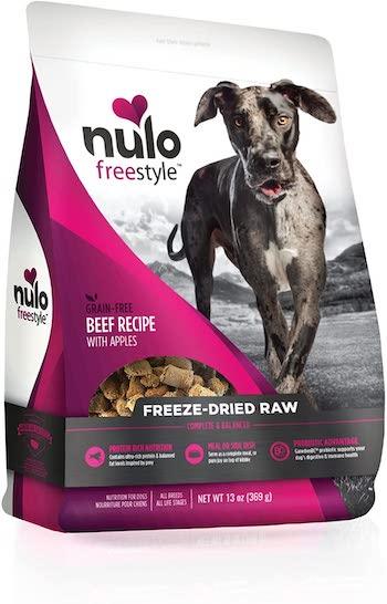 nulo freestyle raw dog food