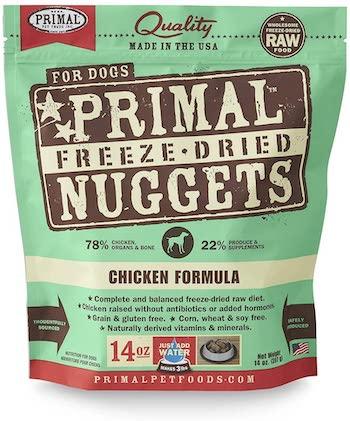 primal chicken freeze dried dog food