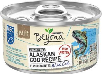 purina beyond alaskan cod cat food