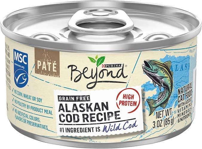 purina beyond alaskan cod cat food