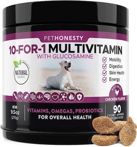 pethonesty dog vitamin