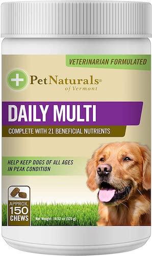 pet naturals dog vitamin