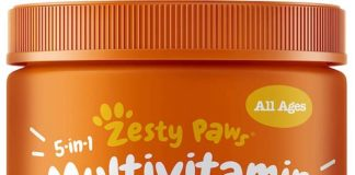 zesty paws multivitamin bites