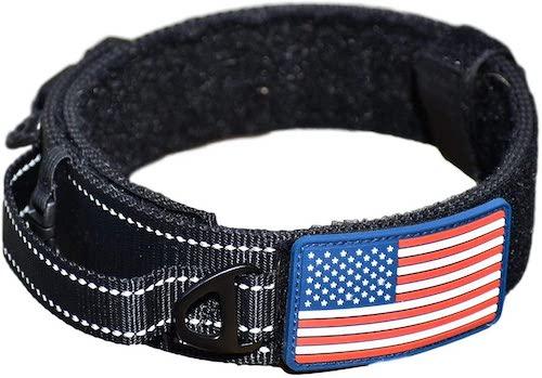 diezel black dog collar
