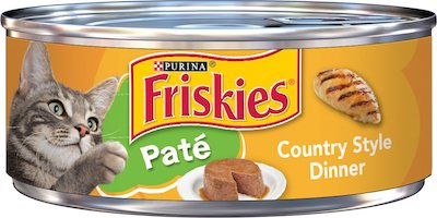 friskies pate country style dinner