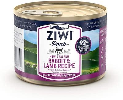 ziwi peak rabbit lamb cat food