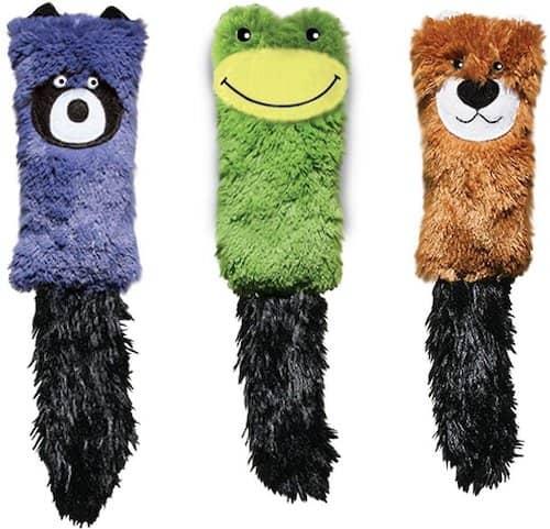 set of three kong kickeroo cat toys