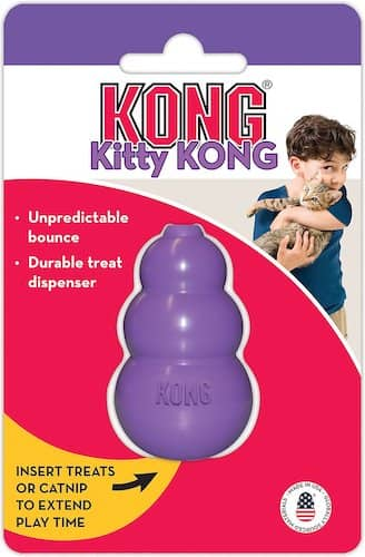 kong kitty kong chew toy