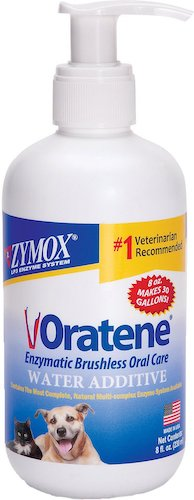 oratene dog dental water additive