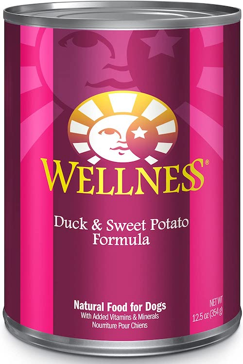 wellness complete health wet dog food