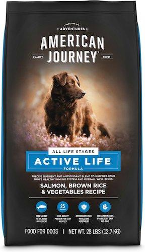 american journey active life dog food