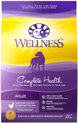 wellness complete health chicken and oatmeal