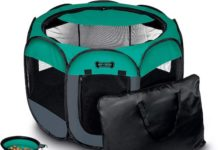 ruff n ruffus portable dog playpen