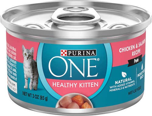 purina one healthy kitten wet food