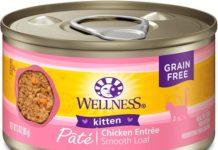 wellness complete chicken kitten food
