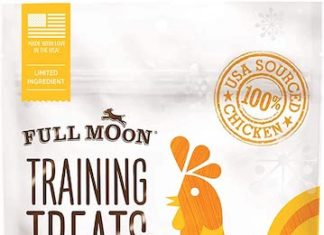 full moon dog training treats