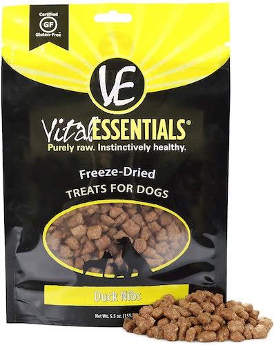 vital essentials freeze dried duck nibs
